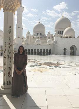 Kirsten Kasper Abu Dhabi 2017