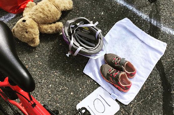 Lincoln Kids Triathlon transition